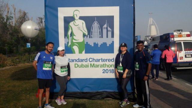 Still running… still learning… 2018 Standard Chartered Dubai Marathon