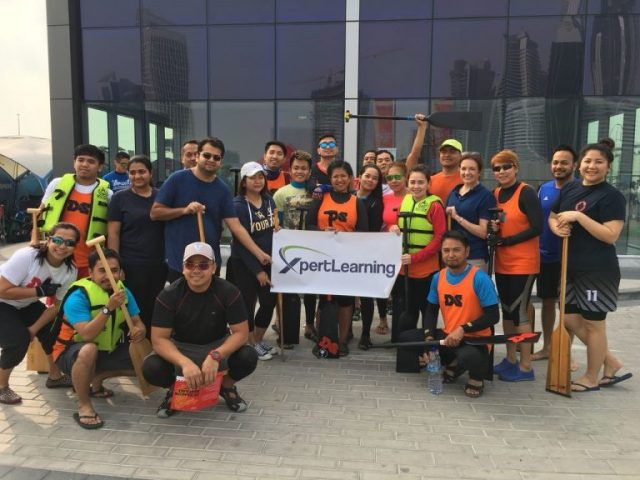XpertDragons Paddled Down at the 2018 'Dubai Properties' Annual Dragon Boat Race 2018