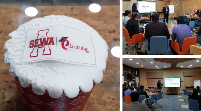 XpertLearning supports SEWA with their eLearning program launch