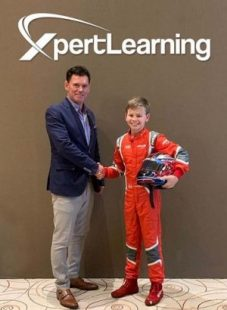 XpertLearning Sponsors F4 Racing Driver